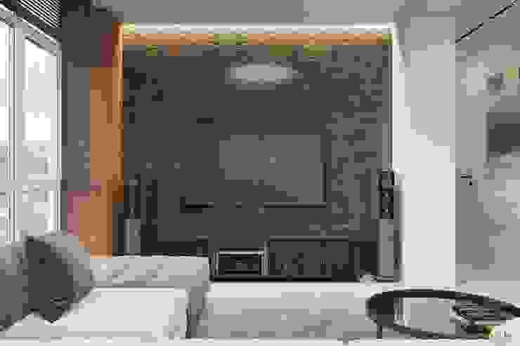 Minimalistische Wohnzimmer von Tobi Architects Minimalistisch