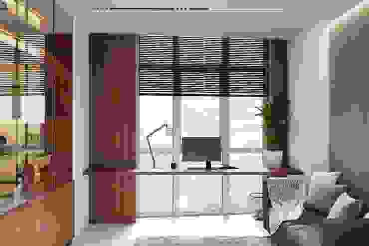 Minimalistische Arbeitszimmer von Tobi Architects Minimalistisch