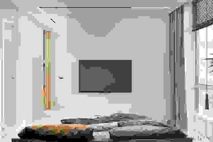 Minimalistische Schlafzimmer von Tobi Architects Minimalistisch