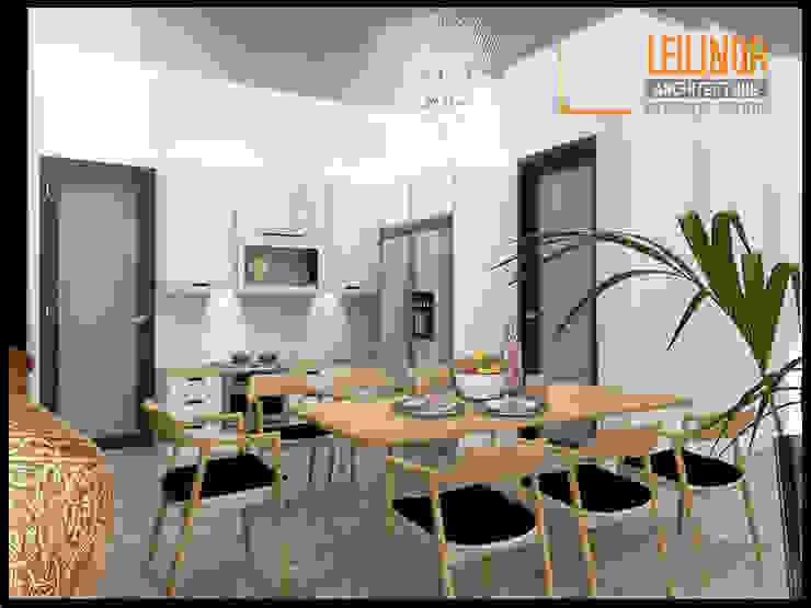 Modern Interior Project Ruang Makan Modern Oleh CV Leilinor Architect Modern