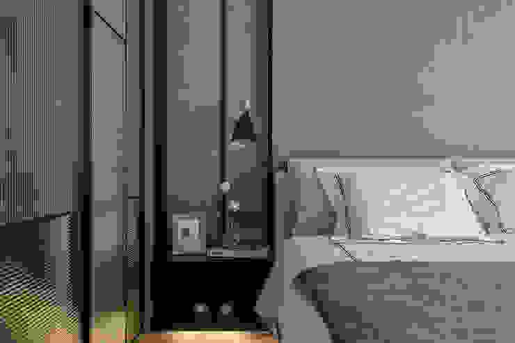 Modern Yatak Odası 柏爾室內設計事務所 Modern