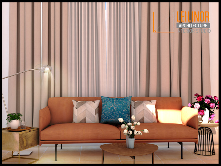 Living Room Design Ruang Keluarga Modern Oleh CV Leilinor Architect Modern