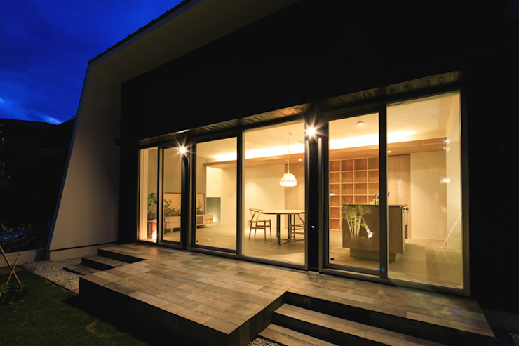 Scandinavian style houses by アーキシップス古前建築設計事務所 Scandinavian