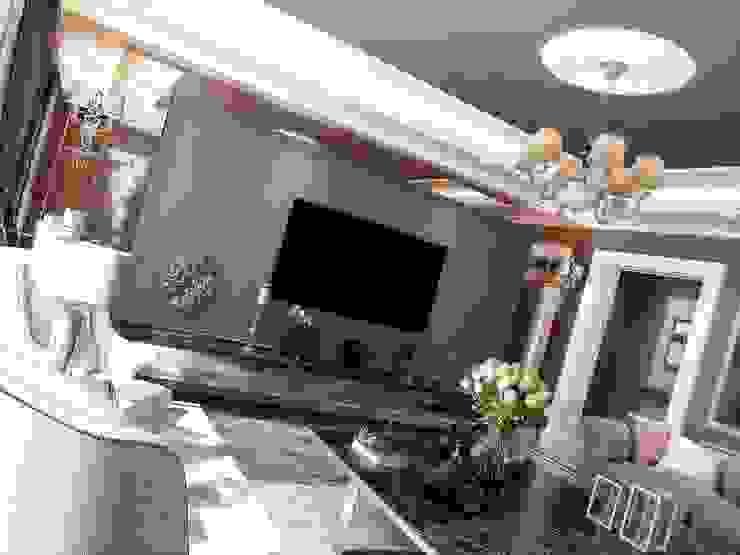 Duvar çıtası Modern Oturma Odası ANTE MİMARLIK Modern