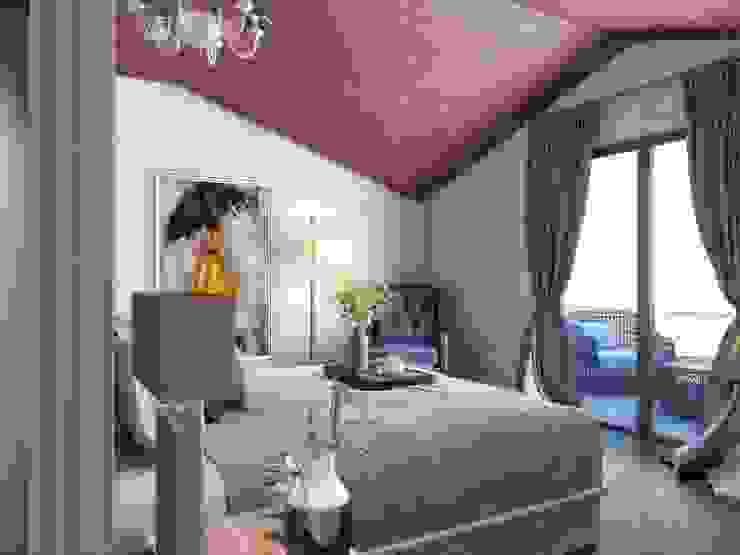 Çatı katı Modern Yatak Odası ANTE MİMARLIK Modern