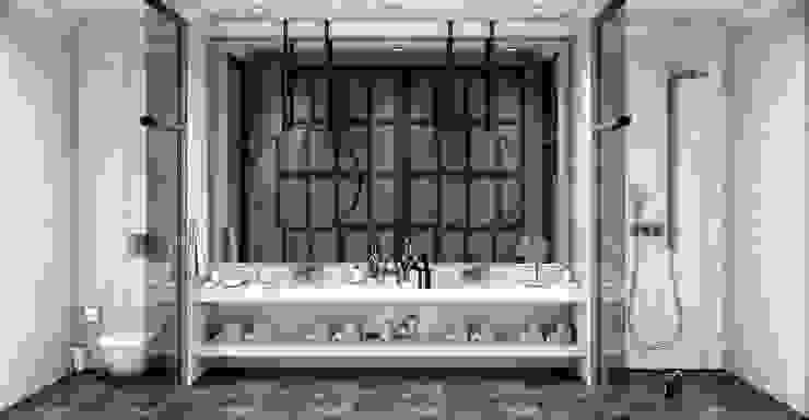 Küçük banyolar Modern Banyo ANTE MİMARLIK Modern