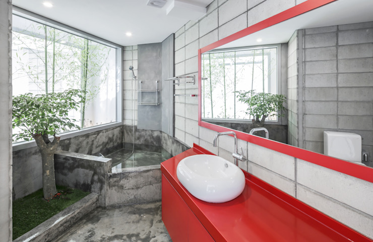 Bathroom by IROJE KIMHYOMAN, Modern