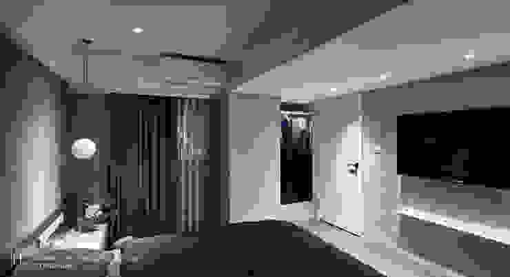 暗色調並帶有沈穩寧靜氛圍的住家設計 根據 SECONDstudio 現代風
