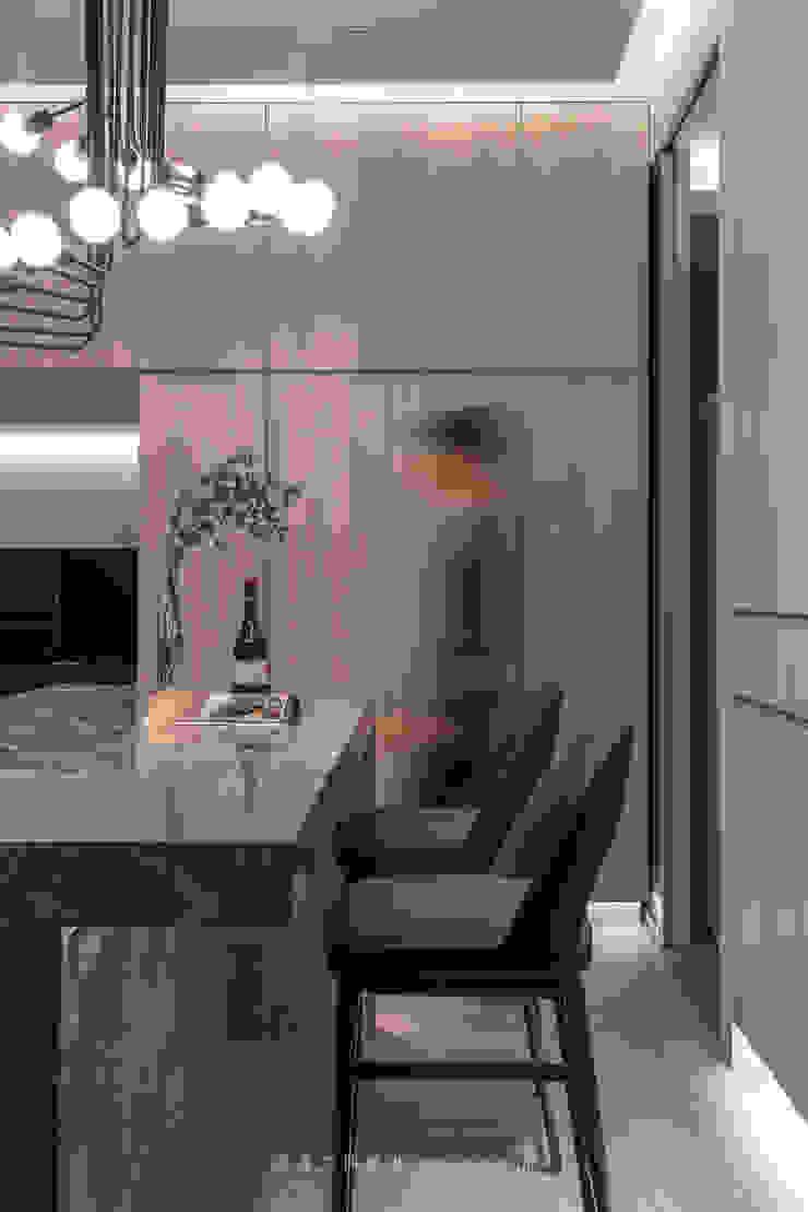 dining area 根據 湜湜空間設計 隨意取材風