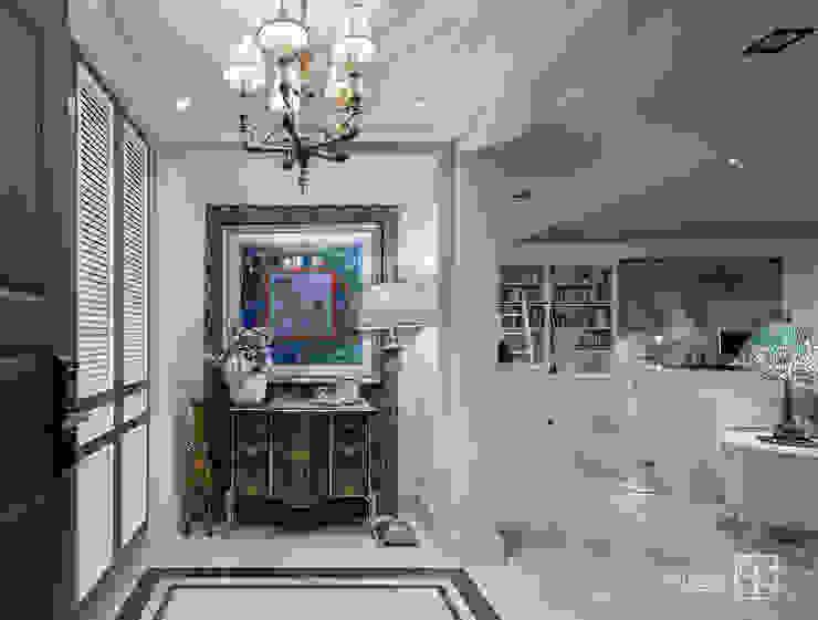 玄關 Classic style corridor, hallway and stairs by 禾廊室內設計 Classic