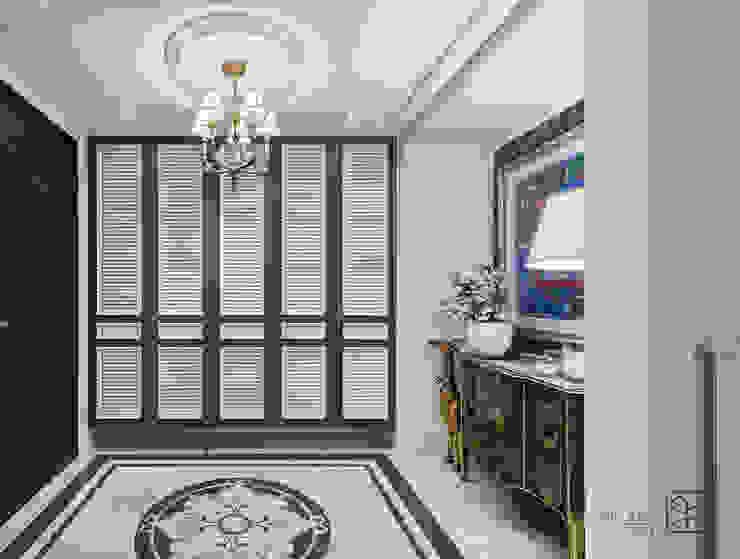 玄關鞋櫃 Classic style corridor, hallway and stairs by 禾廊室內設計 Classic