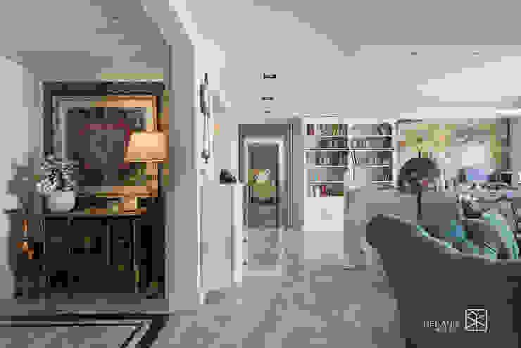 走廊 Classic style corridor, hallway and stairs by 禾廊室內設計 Classic