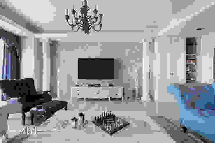 Klassieke woonkamers van 禾廊室內設計 Klassiek