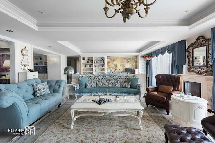 客廳 Classic style living room by 禾廊室內設計 Classic