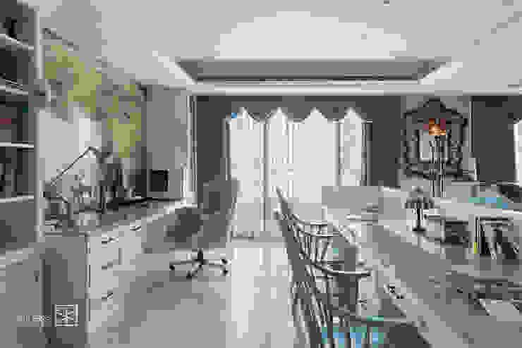 クラシックデザインの 書斎 の 禾廊室內設計 クラシック