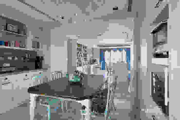 餐廳 Classic style dining room by 禾廊室內設計 Classic