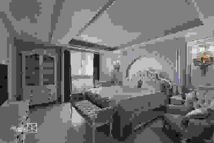 クラシカルスタイルの 寝室 の 禾廊室內設計 クラシック