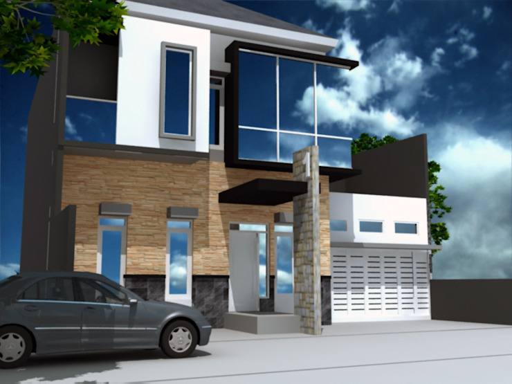 rumah tinggal di semarang Oleh idesignarchitect78 Minimalis