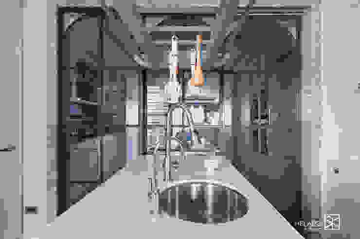 餐廳拉門 Classic style dining room by 禾廊室內設計 Classic