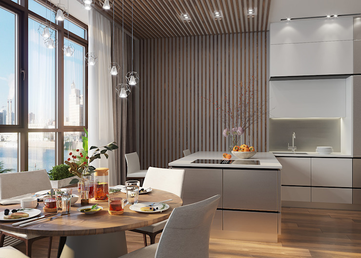 FISHEYE Architecture & Design Kitchen units