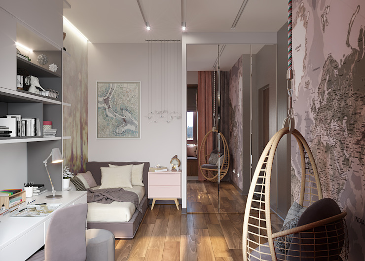 FISHEYE Architecture & Design Teen bedroom