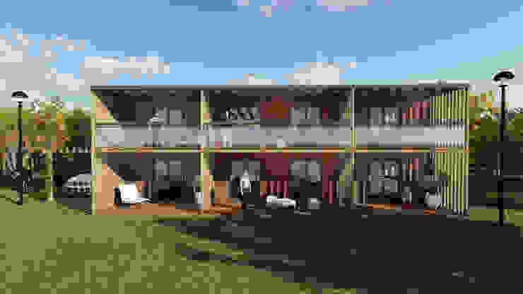 Discovercasa | Casas de Madeira & Modulares 木屋 木頭 Brown