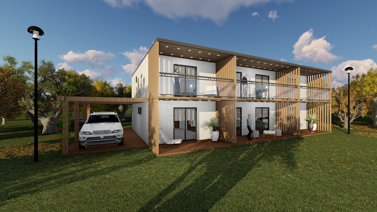 Discovercasa   Casas de Madeira & Modulares Chalets & maisons en bois Bois Blanc