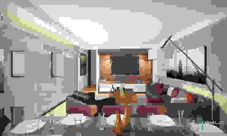Ruang Keluarga by NEU ARQUITECTURA