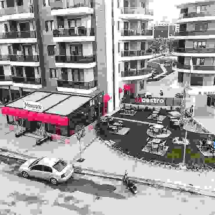 SKY İç Mimarlık & Mimarlık Tasarım Stüdyosu – MAESTRO COFFEE  TASARIMI:  tarz İç Dekorasyon,