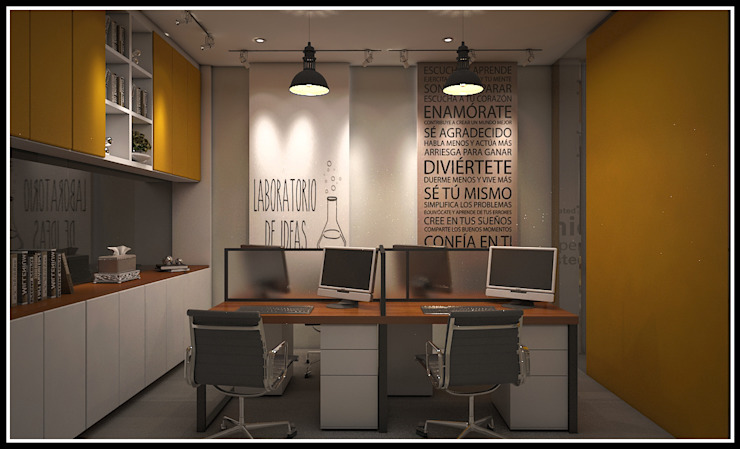 Modern offices & stores by Q Interior & Arch Modern