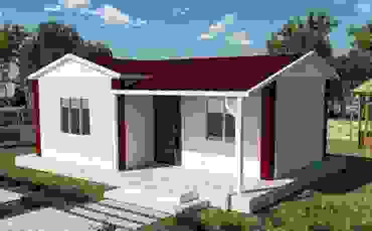 10 mẫu nhà cấp 4 mái tôn đẹp giá rẻ cho vợ chồng ít tiền bởi Kiến Trúc Xây Dựng Incocons