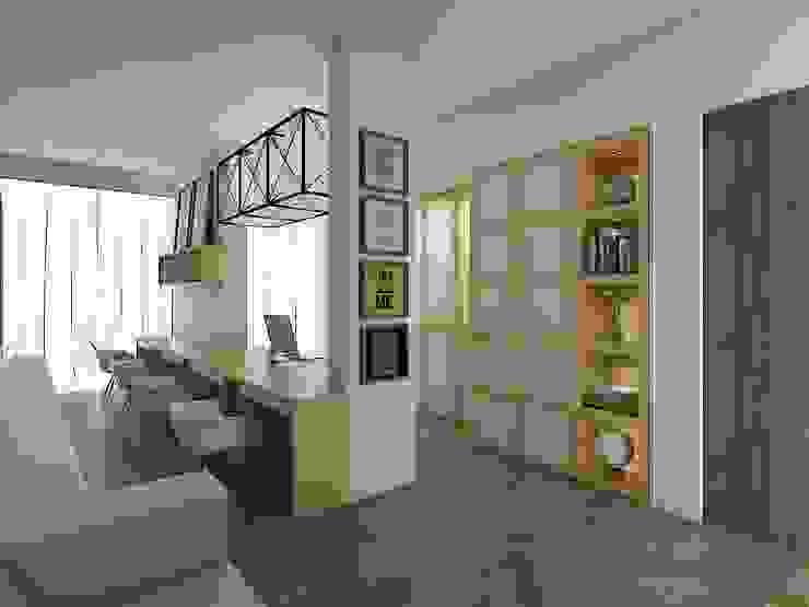 Minimalist offices & stores by Desain Konstruksi Arsitektur Minimalist