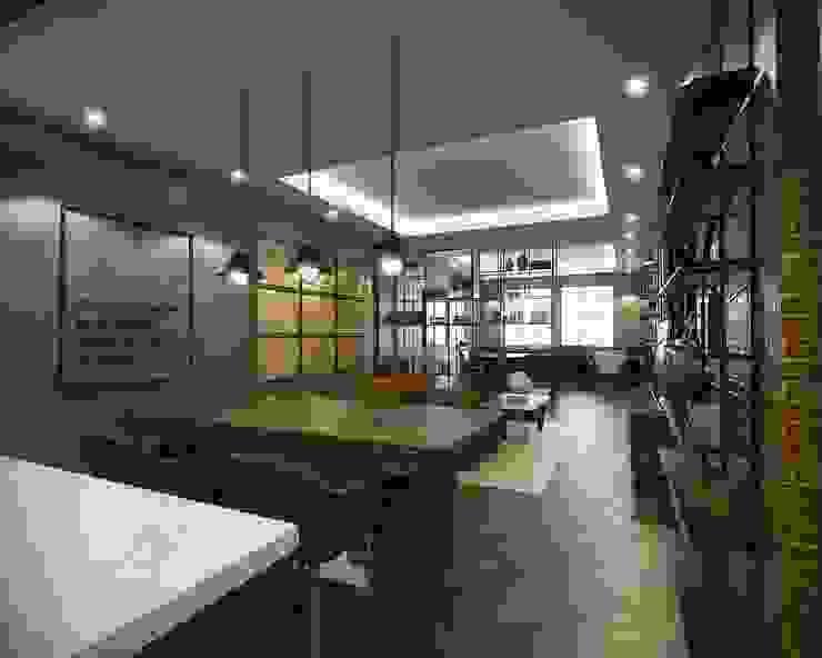 Meeting Room Desain Konstruksi Arsitektur Ruang Studi/Kantor Modern