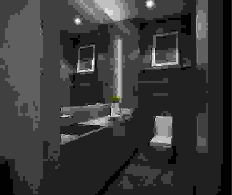 Kamar Mandi Kamar Mandi Modern Oleh Desain Konstruksi Arsitektur Modern