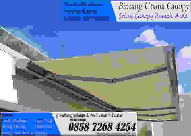Canopy Kain Awning Gulung Oleh Bintang Utama Canopy Minimalis