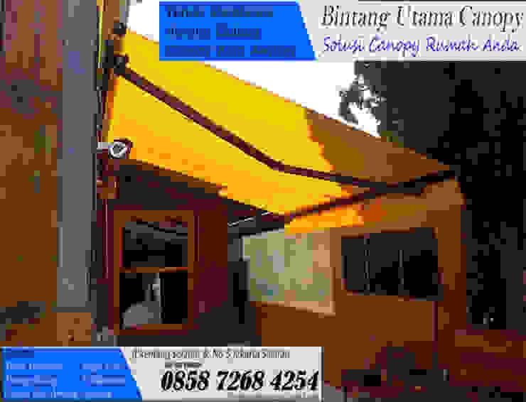 Kanopi Kain Hotel Minimalis Oleh Bintang Utama Canopy Minimalis