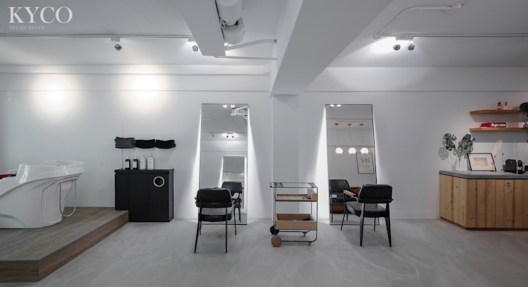 UNSP Salon 根據 芮晟設計事務所 工業風 水泥
