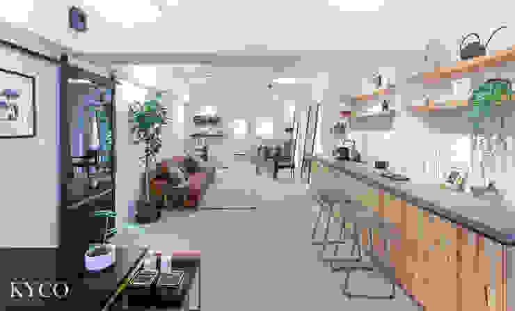 UNSP Salon 根據 芮晟設計事務所 工業風 木頭 Wood effect