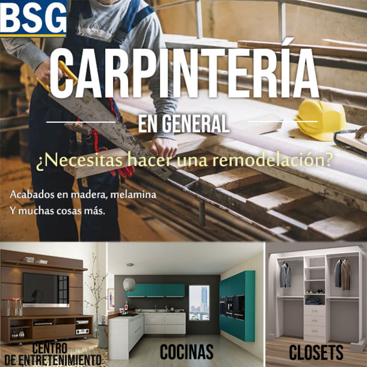 BSG Ingeniería Arquitectura y Construcción Wood effect