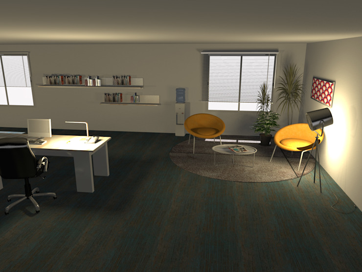 Oficinas Millennials Coworking de Minimalistika.com Minimalista Aglomerado