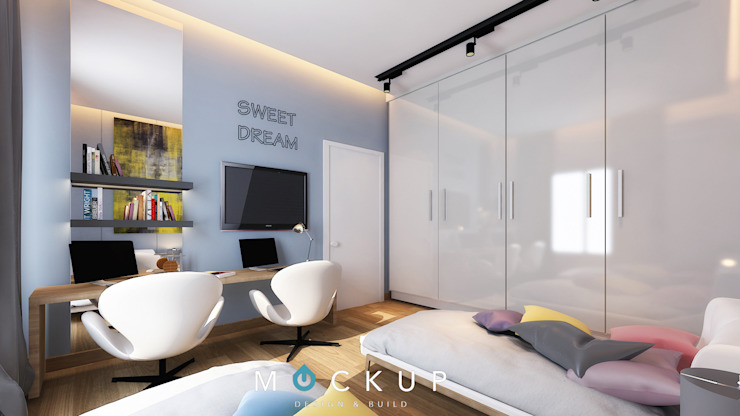 Modern Bedroom by Mockup studio Modern