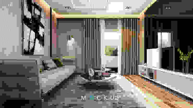 Modern living room by Mockup studio Modern