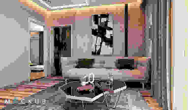 Nowoczesny salon od Mockup studio Nowoczesny