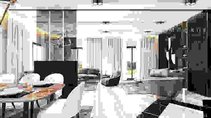 Гостиная в стиле модерн от Mockup studio Модерн