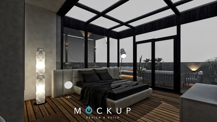 od Mockup studio Nowoczesny
