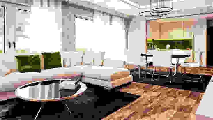 Salon de style  par  Mockup studio