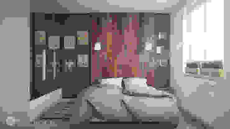 Dormitorios de estilo minimalista de hexaform Minimalista