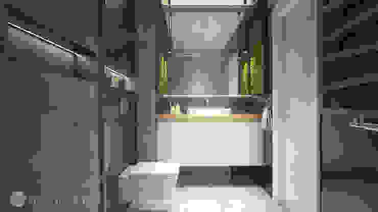 Baños de estilo minimalista de hexaform Minimalista