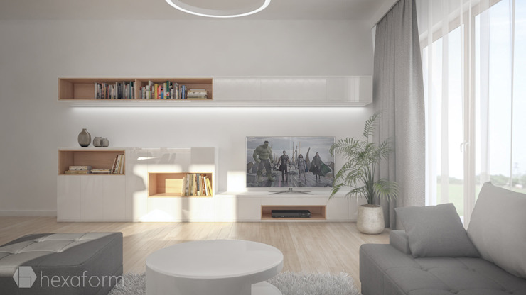 hexaform Modern living room