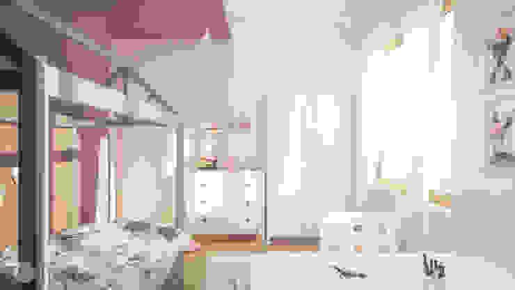 Dormitorios infantiles de estilo moderno de hexaform Moderno